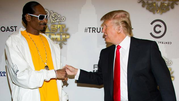 Trump and Snoop Dogg
