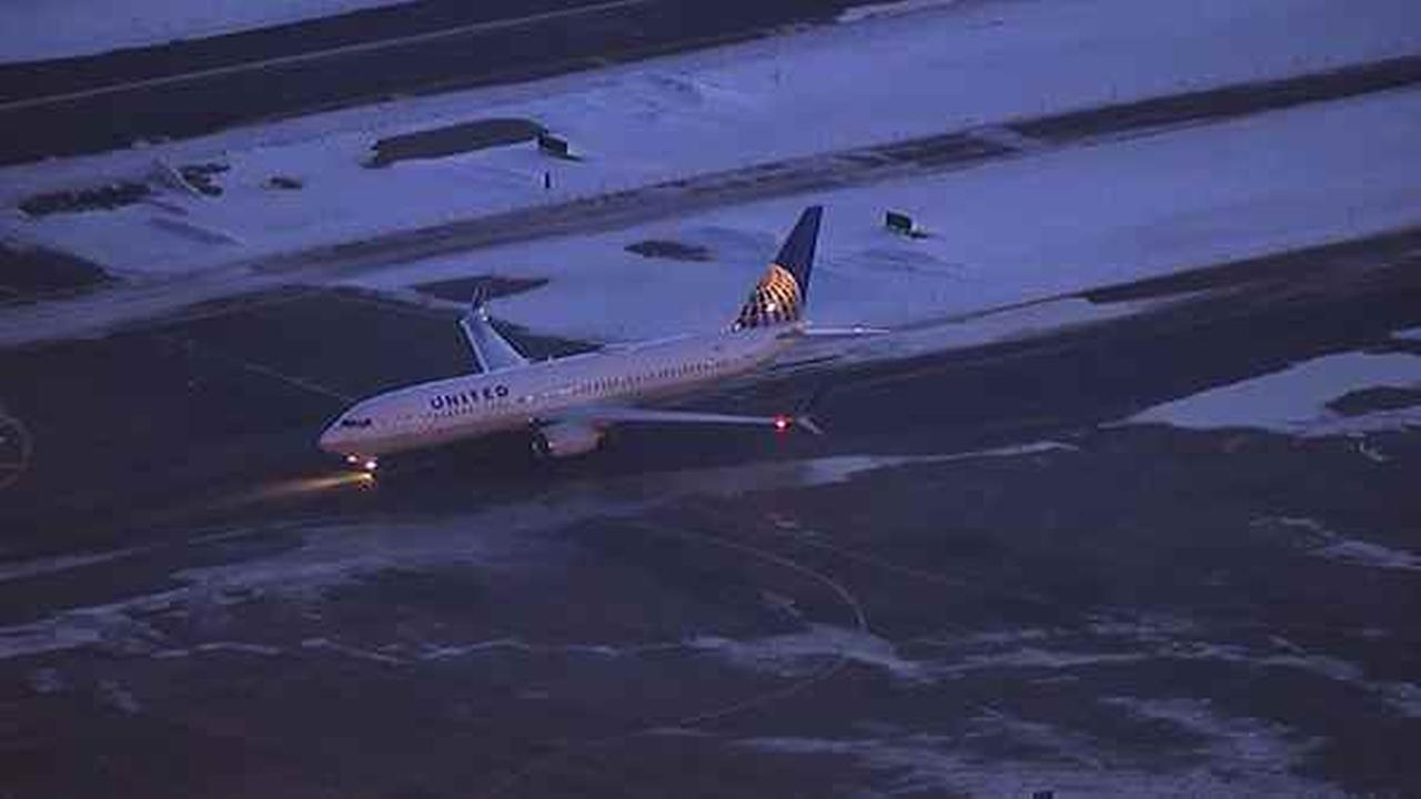 A United plane had to make an emergency landing at Newark airport Friday morning.