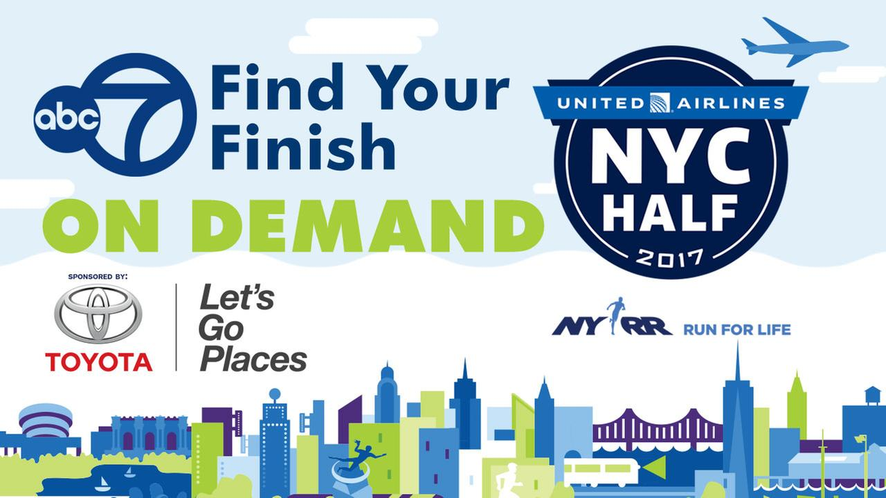 Find Your Finish on Demand: 2017 United Airlines NYC Half Marathon
