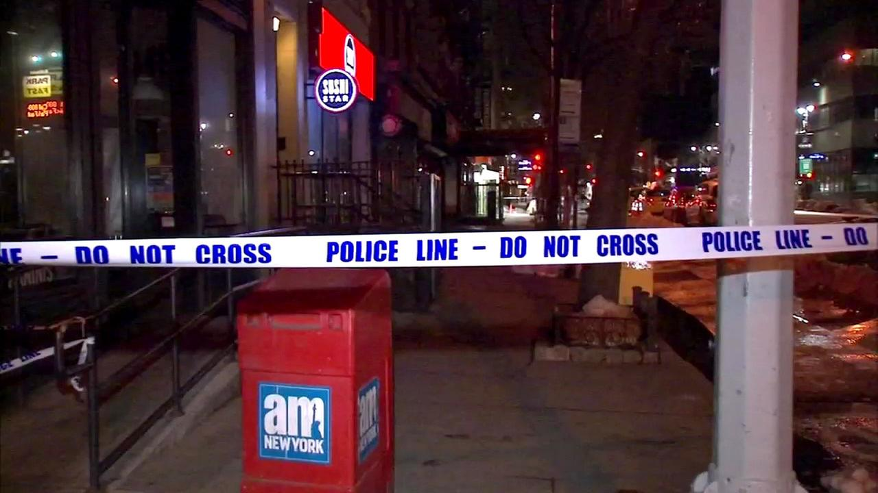 The NYPD said 66-year-old Timothy Caughman was stabbed near the intersection of West 36th Street and Ninth Avenue in Midtown Manhattan on Monday, March 20, 2017.