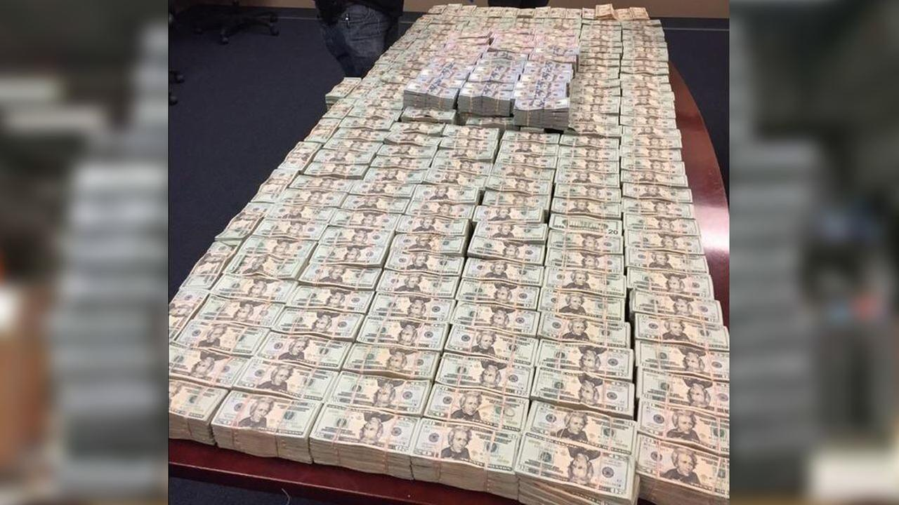 Federal agents seize over $4 million and several pounds of heroin in interstate drug bust