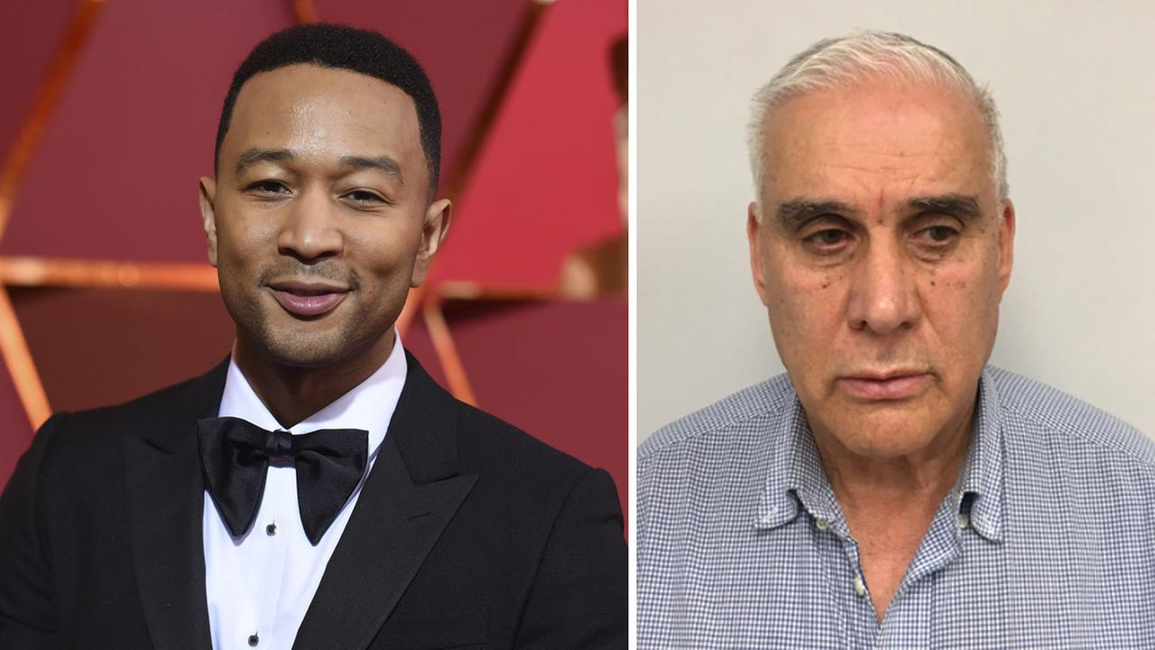 John Legend's bag stolen at JFK Airport; Suspect charged with grand larceny
