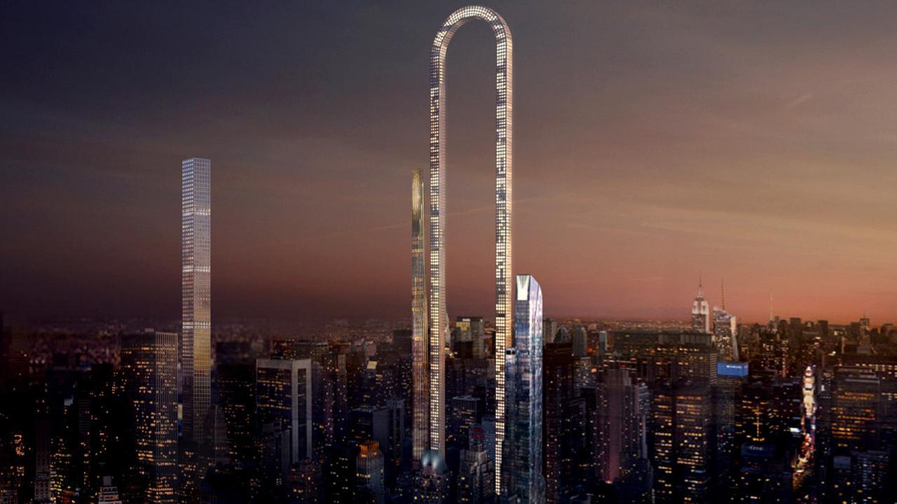 U-shaped skyscraper would change Manhattan skyline