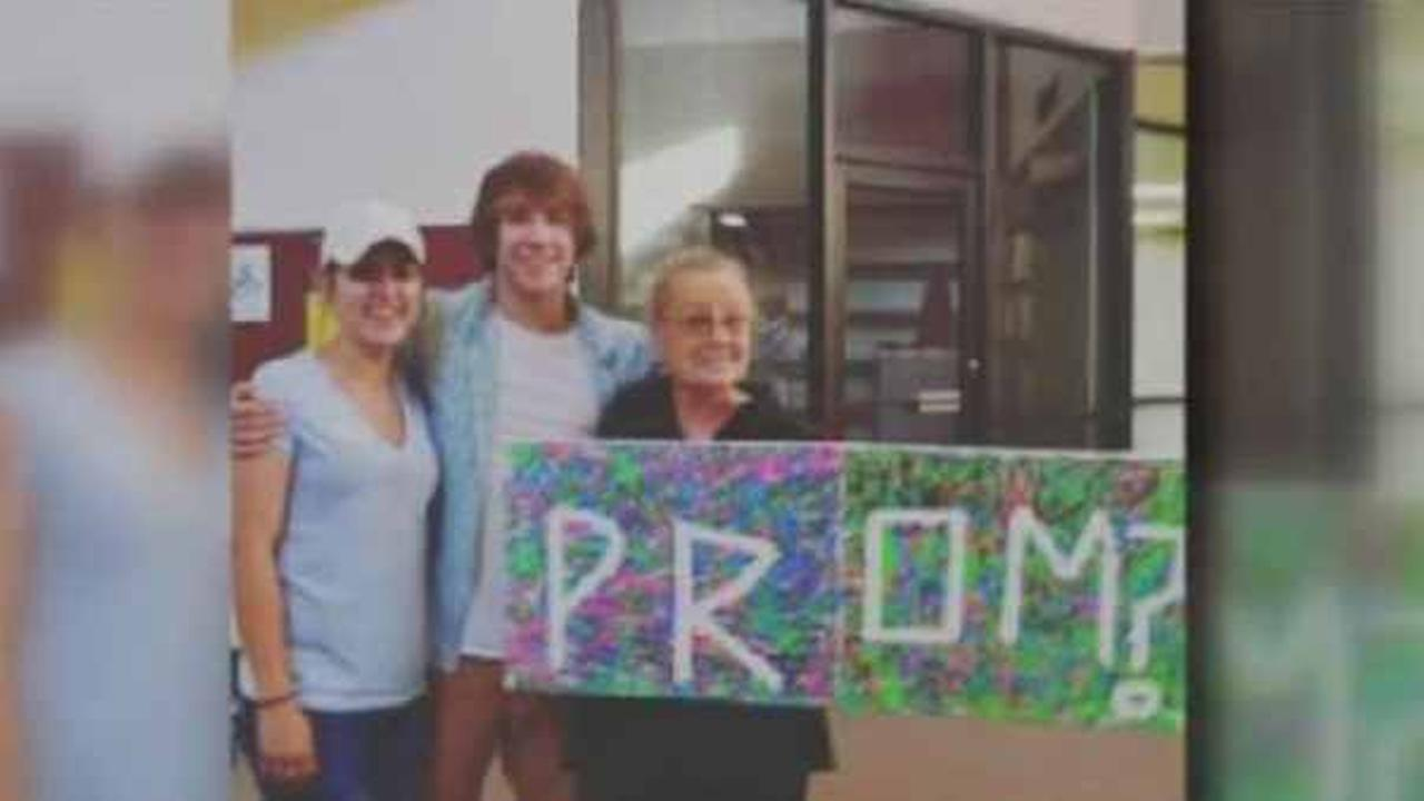A high school student in Alabama asked his grandmother to the prom, but his school principal said no.