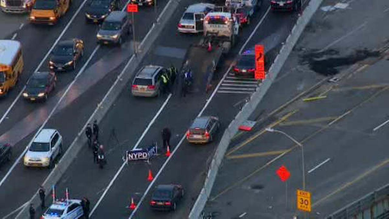 Motorcyclist killed in collision with SUV on Brooklyn Queens Expressway
