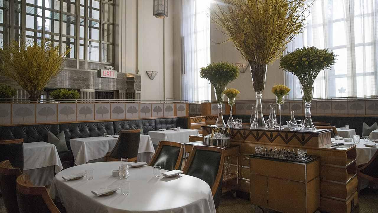 A look at the dining room of Eleven Madison Park restaurant Wednesday.