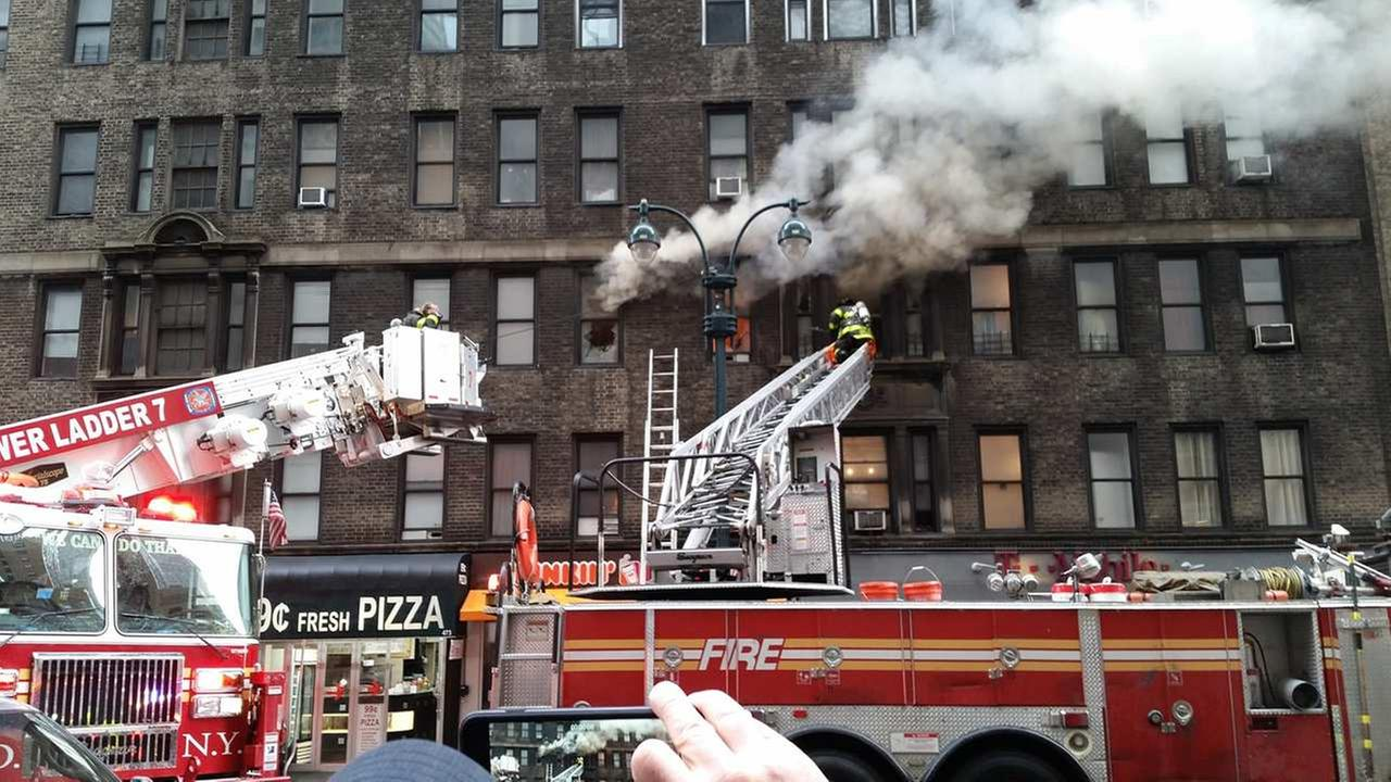 High Rise Apartment Inside fdny extinguishes fire inside high-rise apartment building in