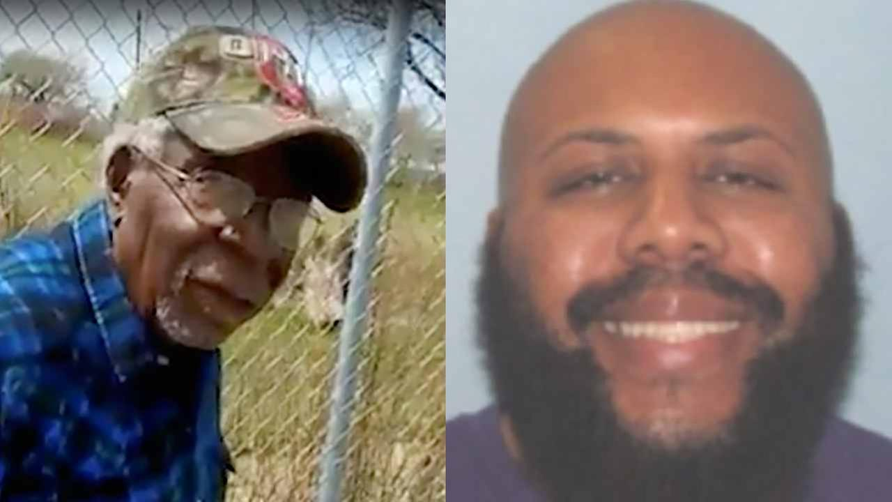 Robert Godwin Sr. (left) and Steve Stephens