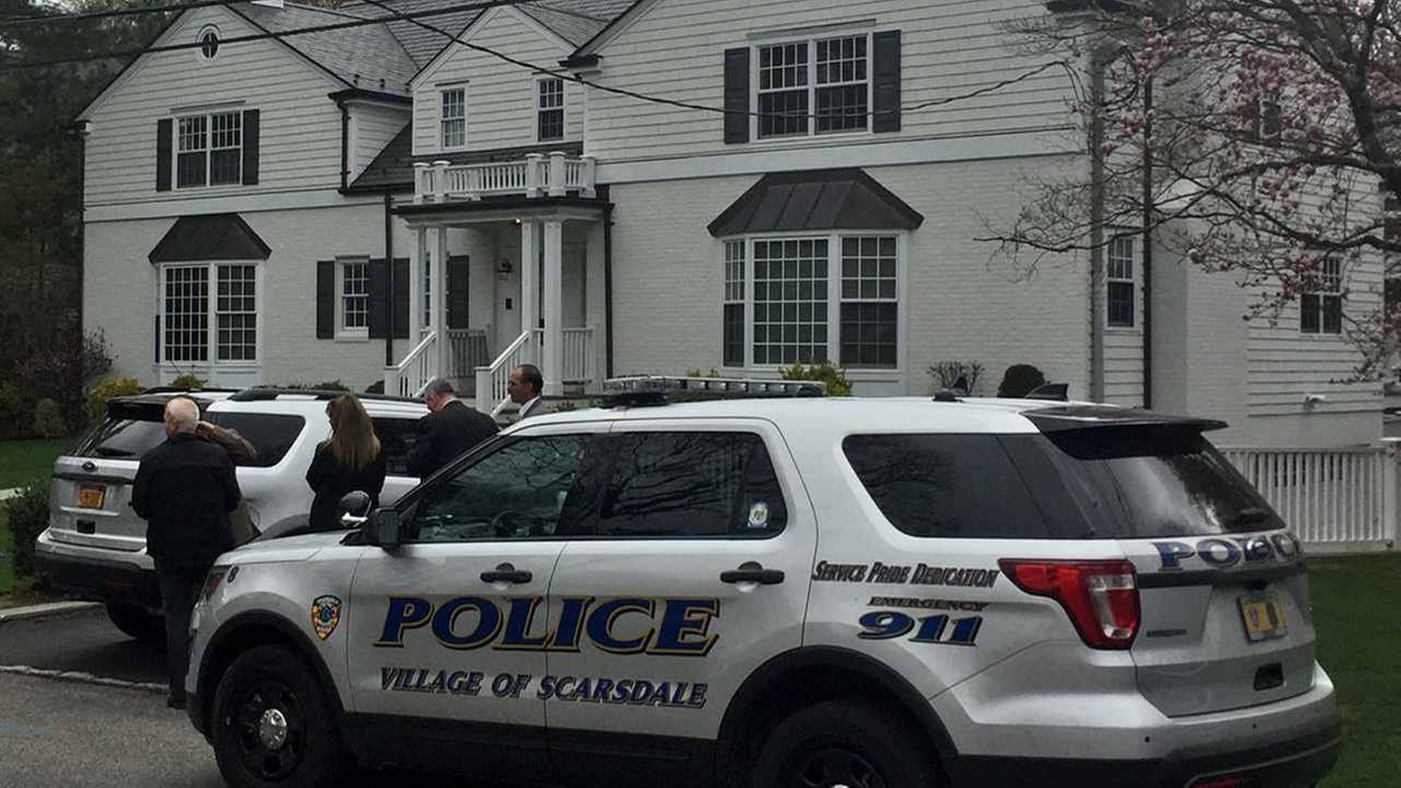 The Scarsdale Police Department is investigating after a couple awoke to find masked men in their home.