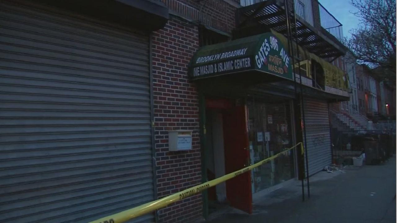 Officials investigating after fire damages Brooklyn mosque, deli