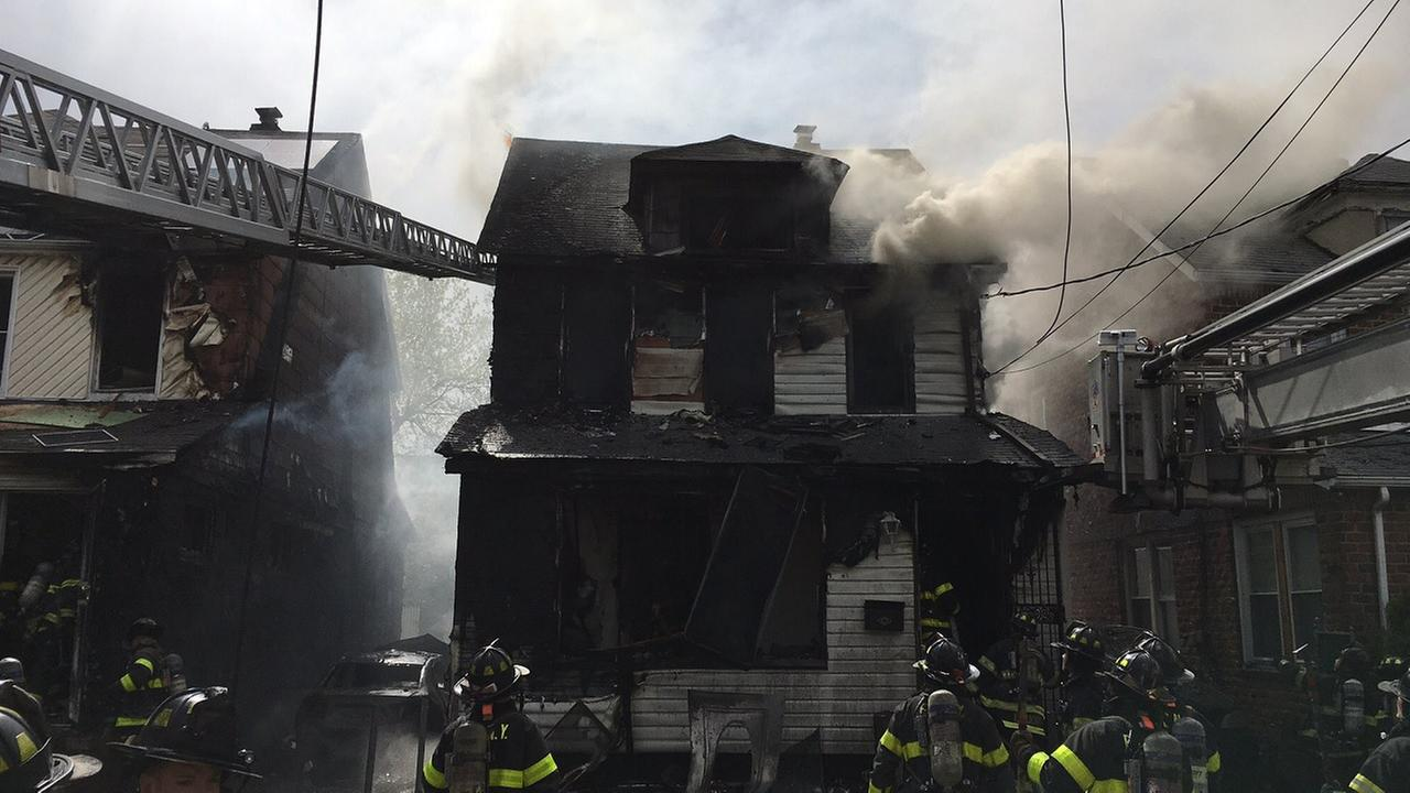 3 children among 5 dead in catastrophic New York house fire