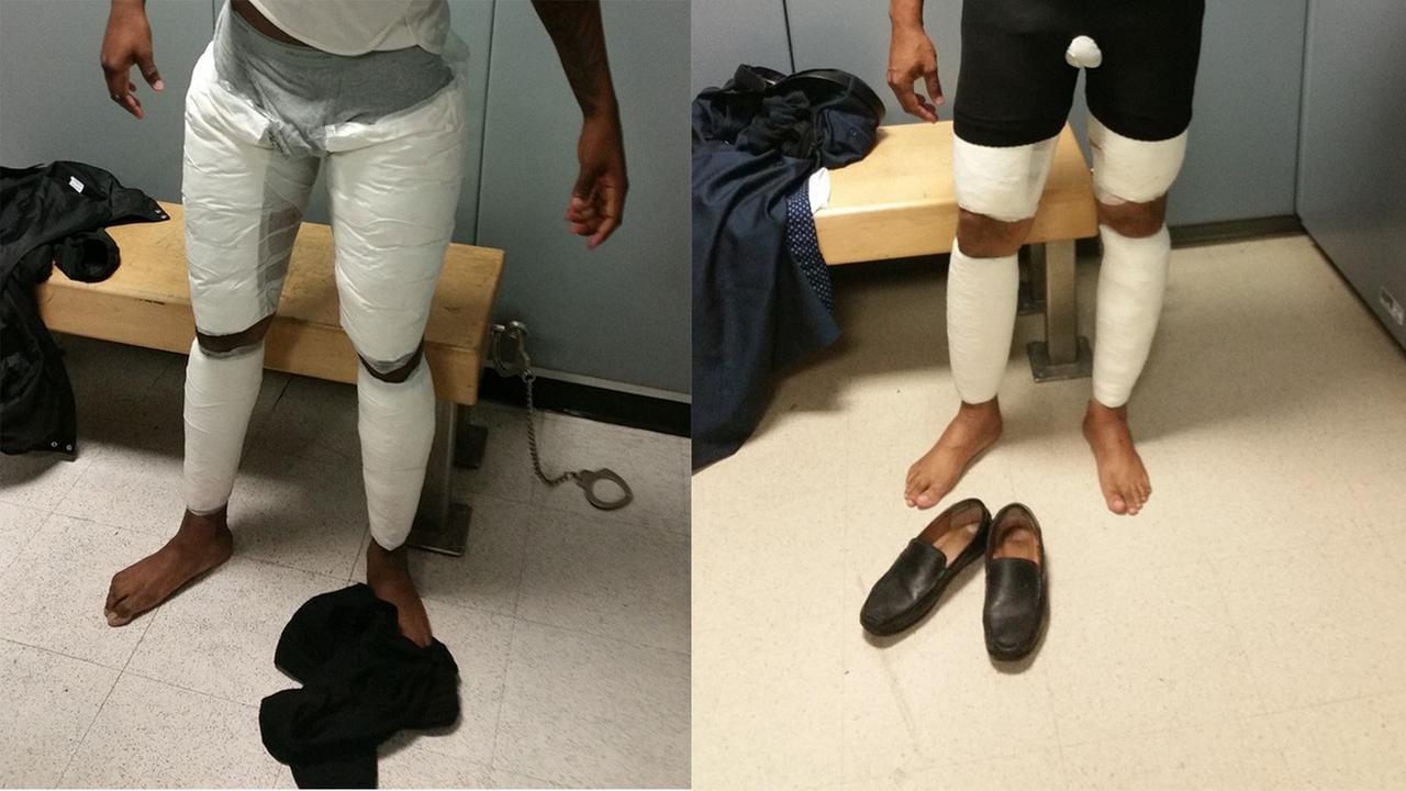 2 men busted at JFK, accused of smuggling cocaine taped to body