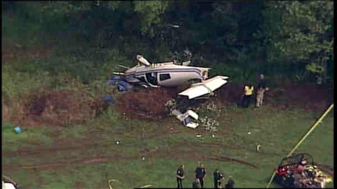 small plane crash in somerset, county