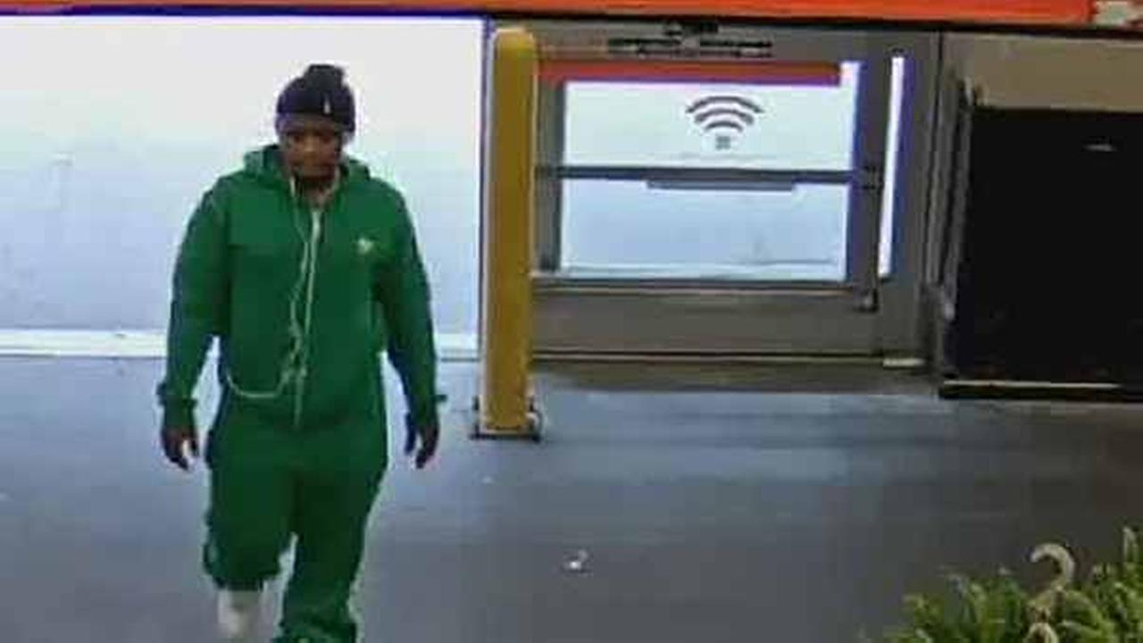 A man was arrested after a woman was attacked in a mugging in Harlem.