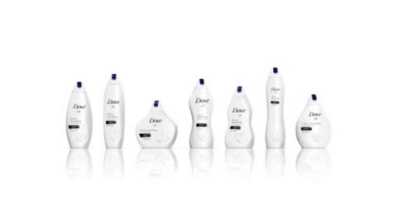 Dove body wash's new bottles evoke women's body shapes, spark backlash