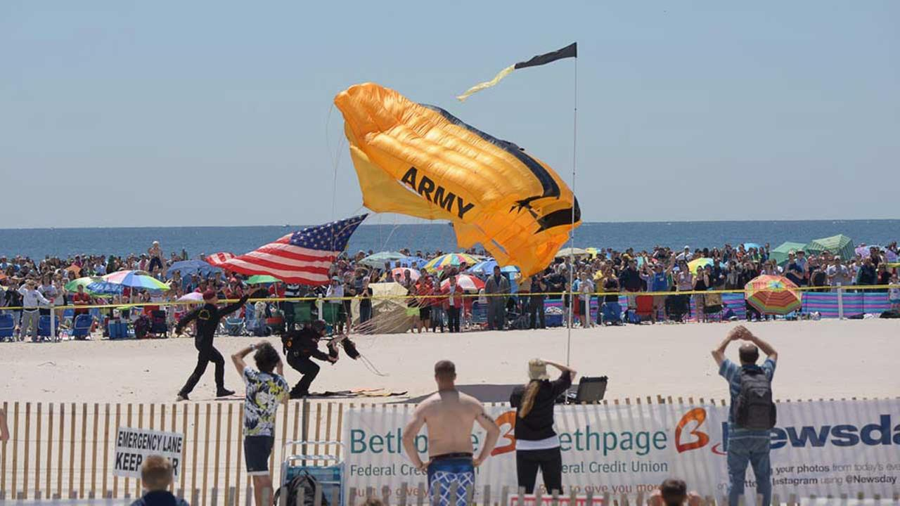 Performers from previous Bethpage air shows.