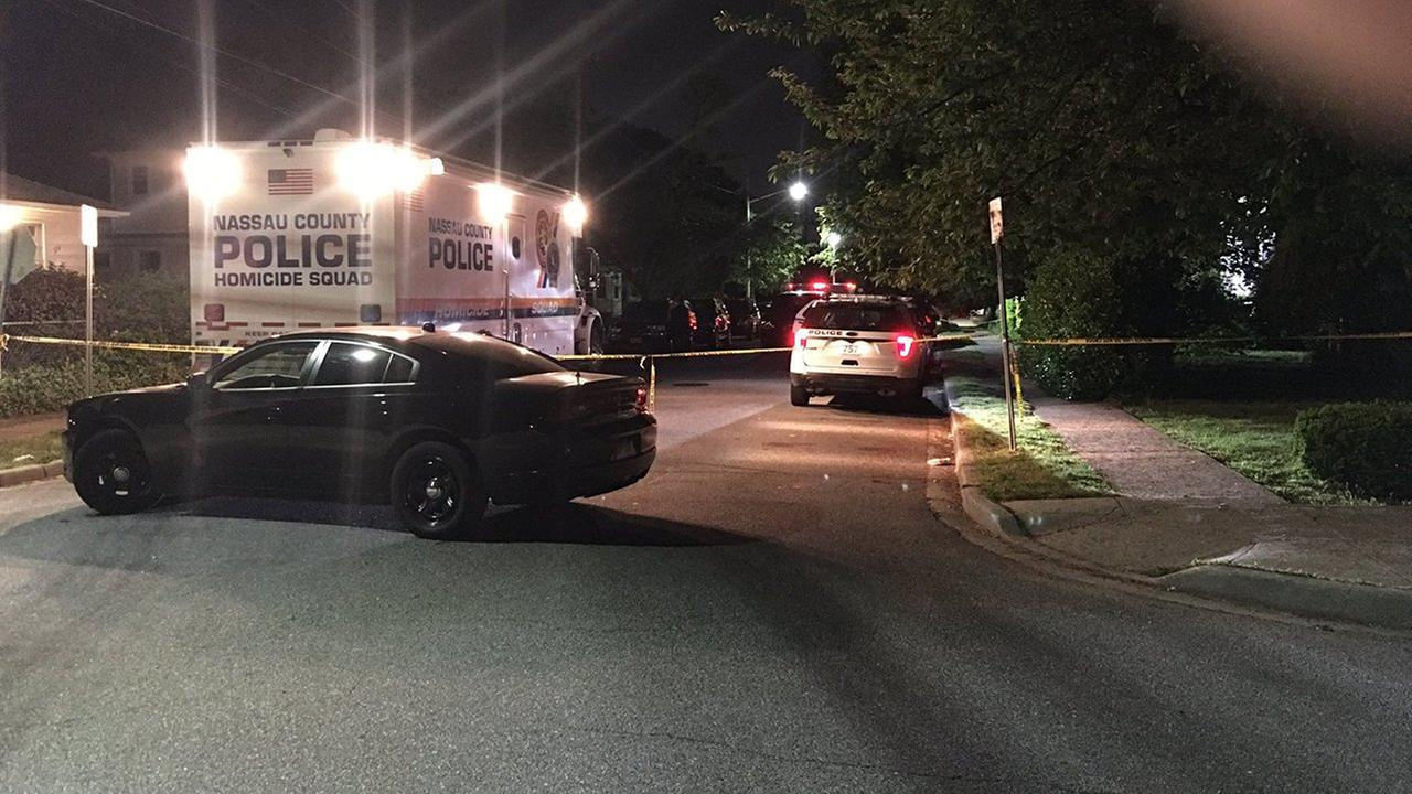 A woman was found dead in a Hempstead home.