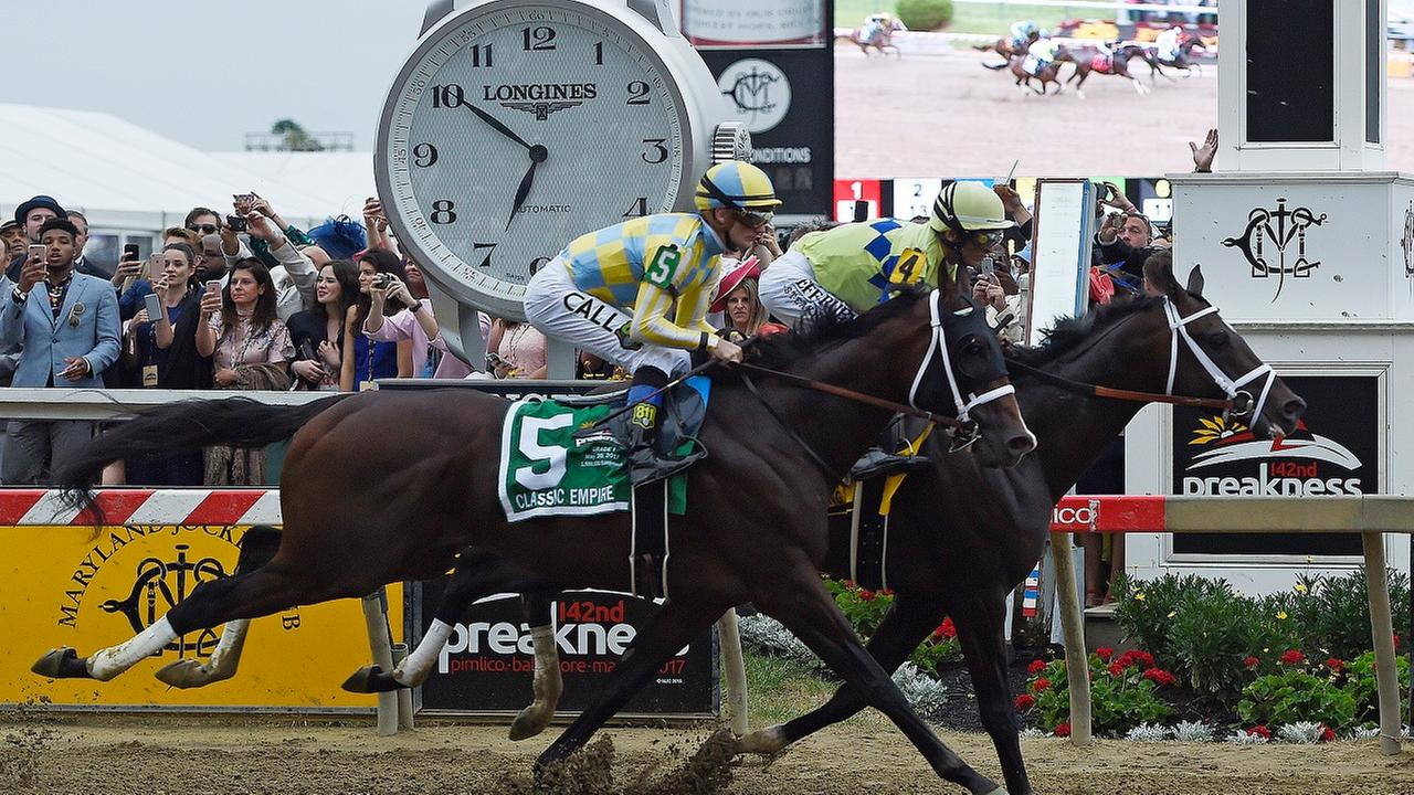 Cloud Computing wins the Preakness Stakes