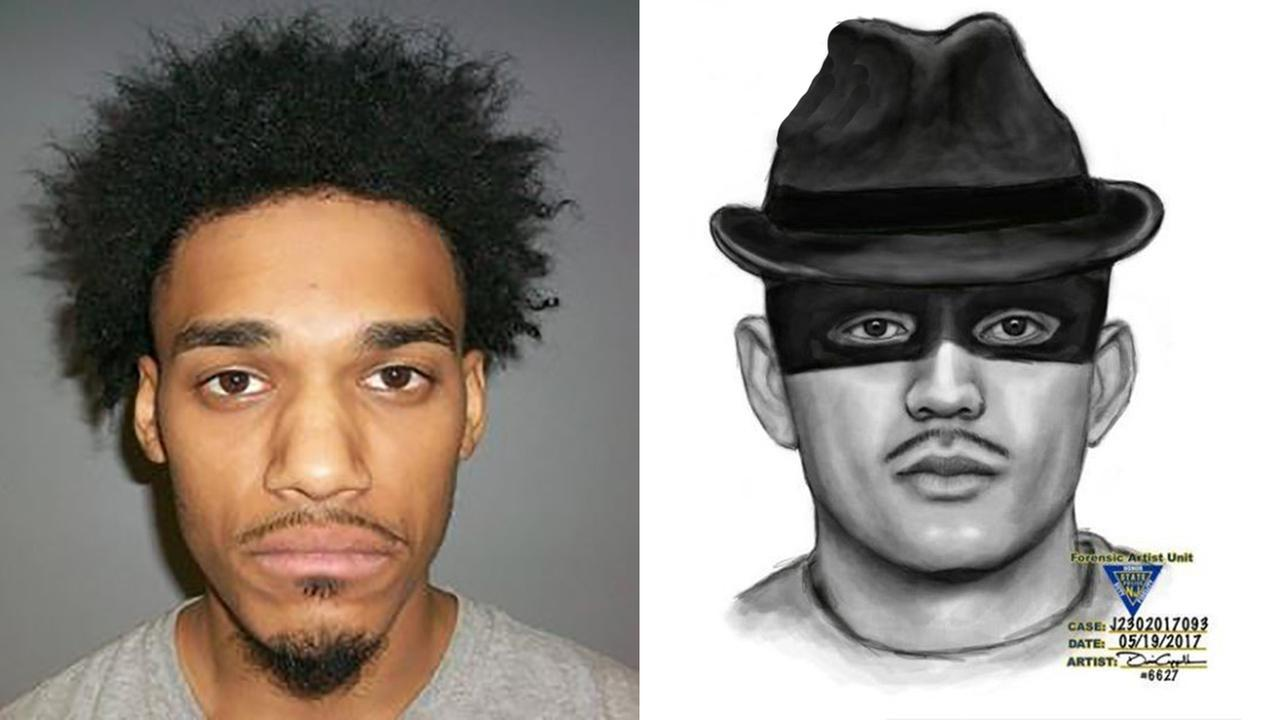 Belleville fedora- and eye mask-wearing home invasion suspect arrested