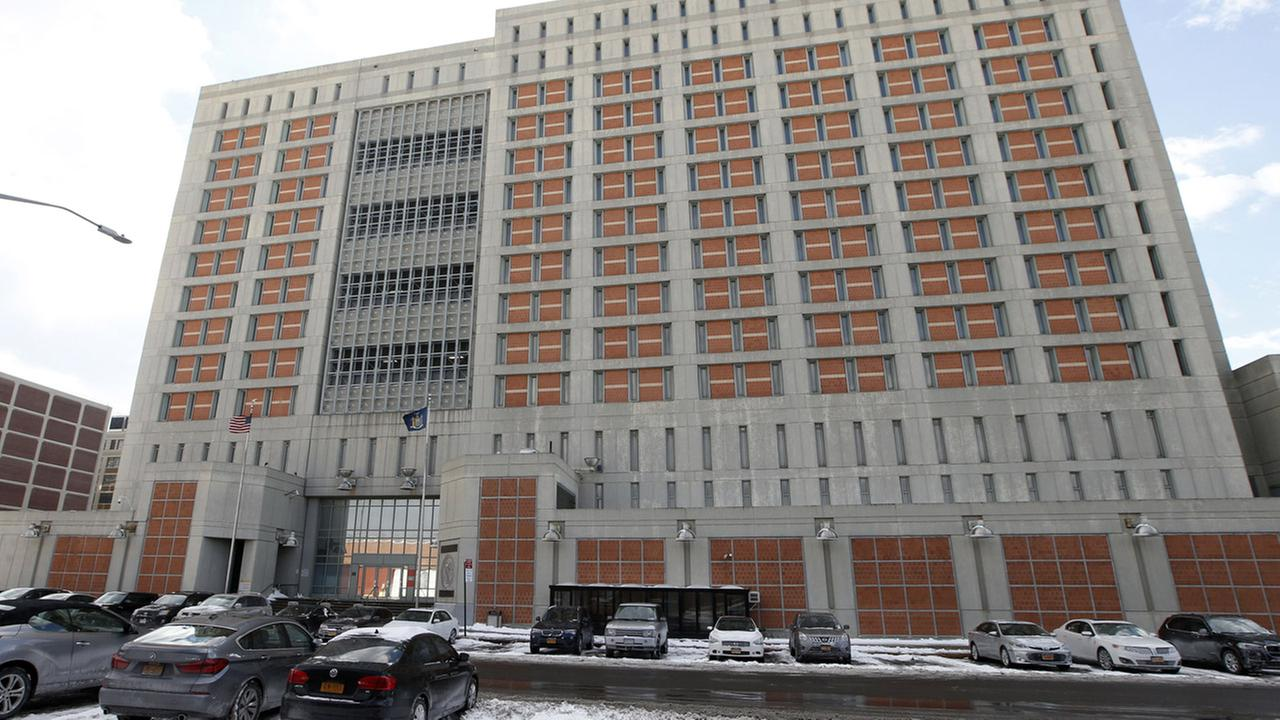 The Metropolitan Detention Center (MDC) is shown Sunday, Jan. 8, 2017, in the Brooklyn borough of New York.