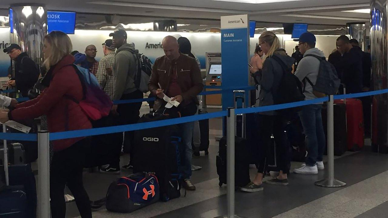 Memorial Day travelers were getting an early start Friday at LaGuardia Airport.