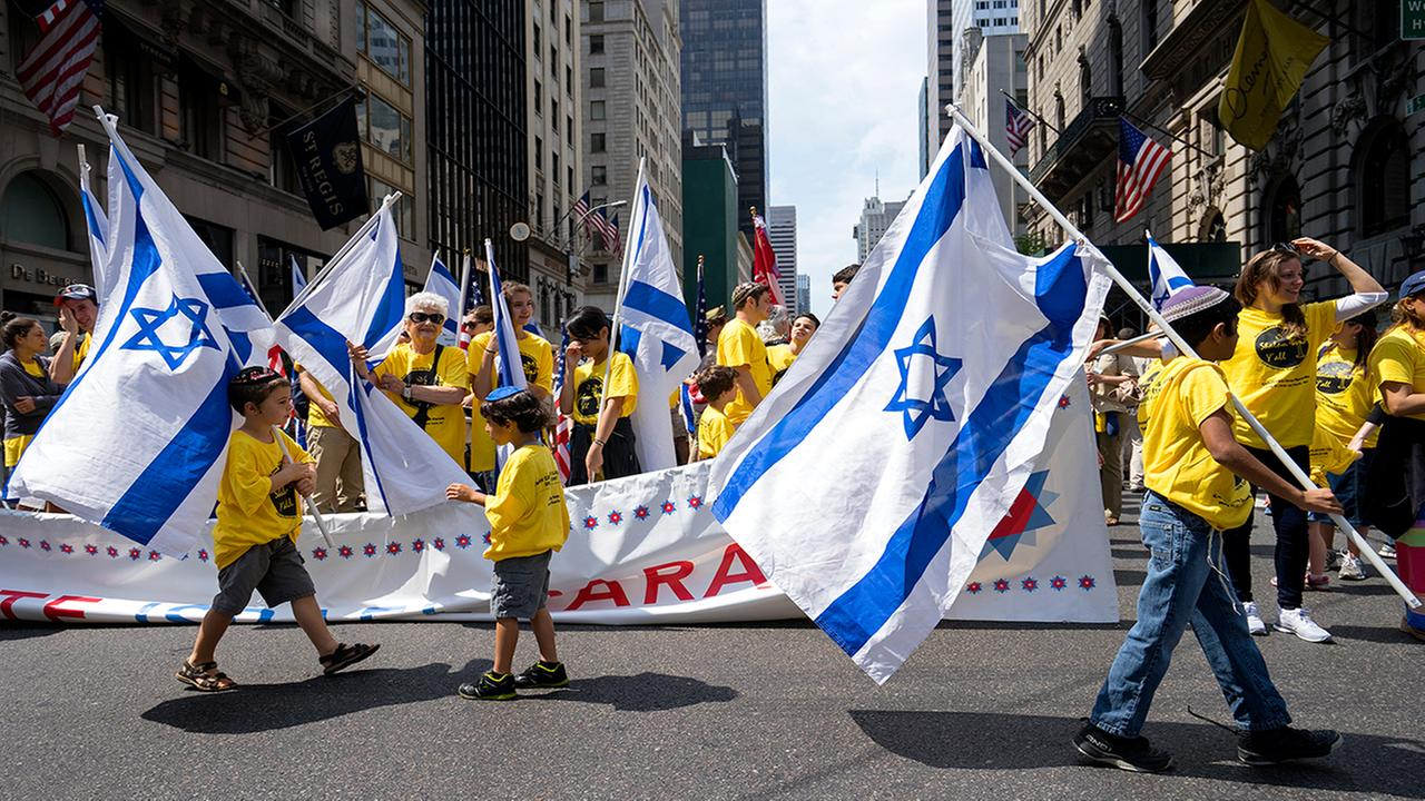 Tens of thousands 'Celebrate Israel' in NYC parade