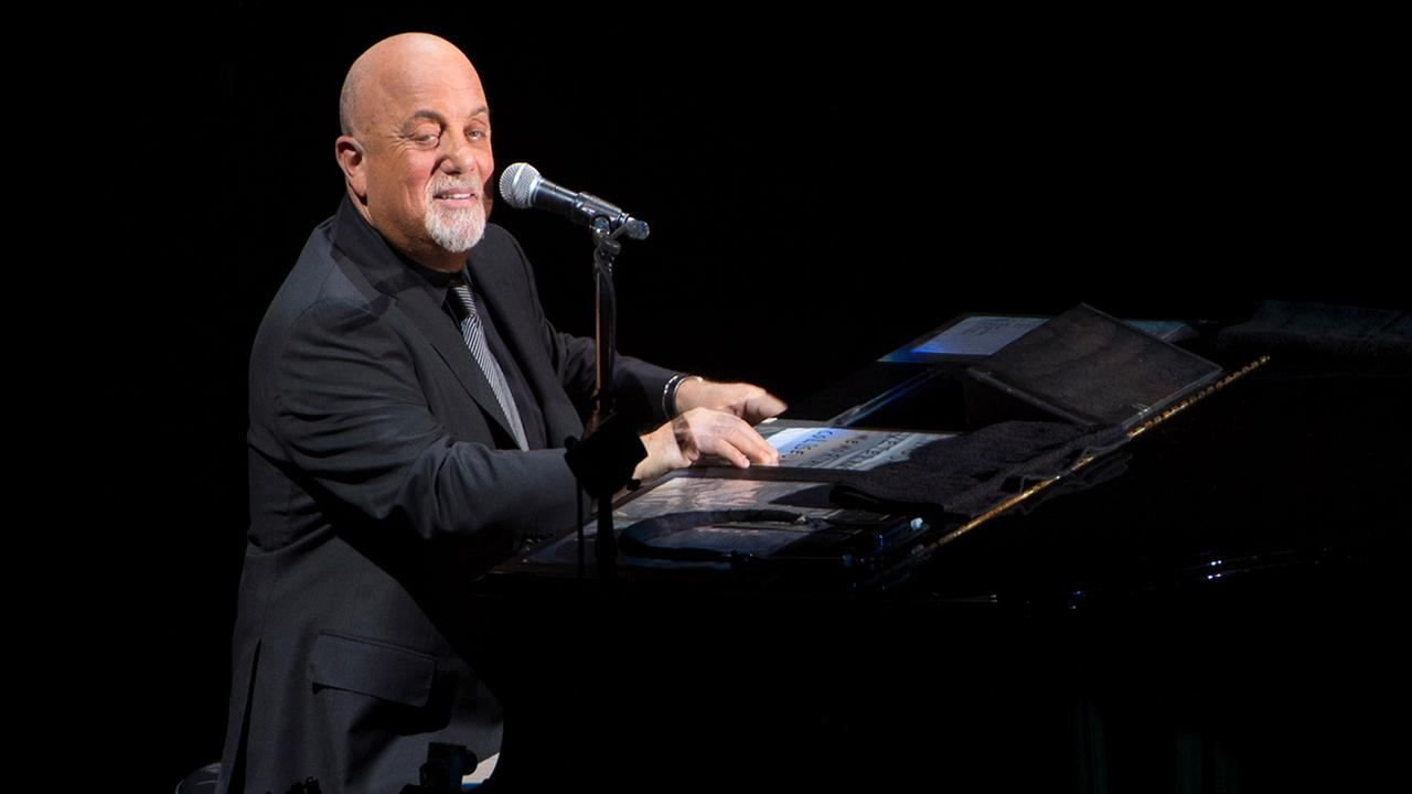 Billy Joel performs in concert for the grand re-opening of the Nassau Coliseum on Wednesday, April 5, 2017, in Uniondale, New York. (Photo by Scott Roth/Invision/AP)