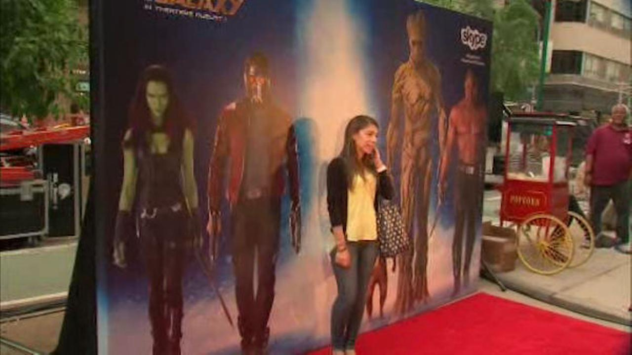 Virtual red carpet for 'Marvel's Guardians of the Galaxy'>