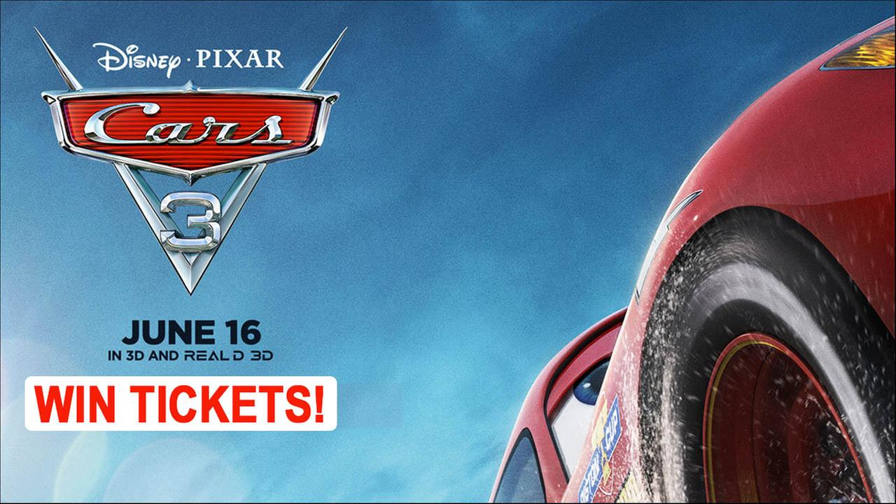 Enter for a chance to Win: Cars 3 Sneak Peek!