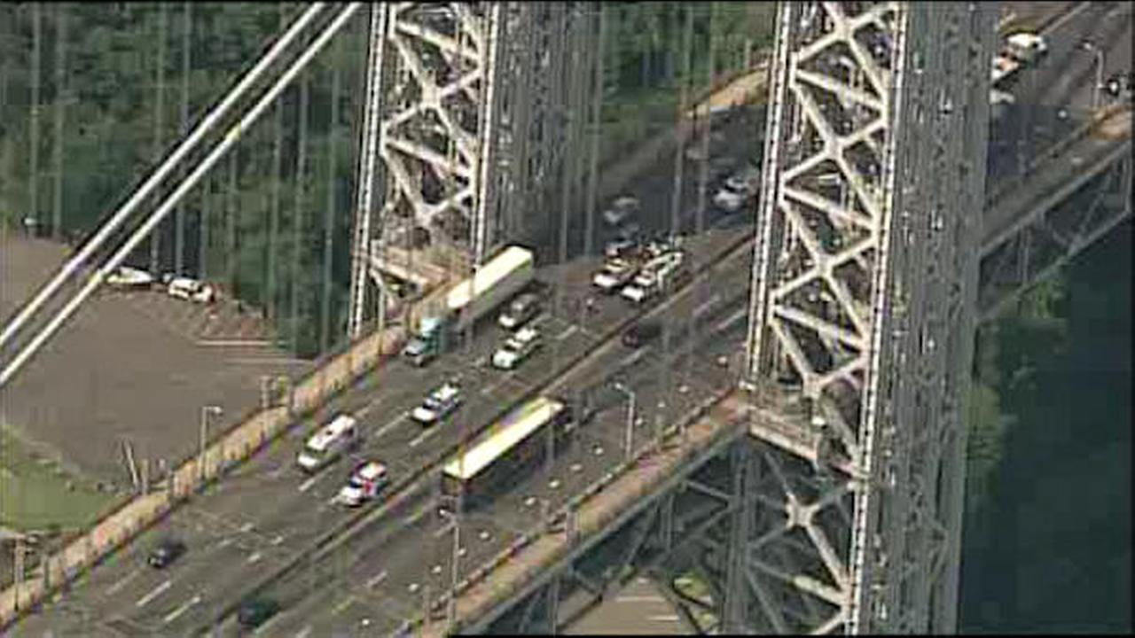 Eastbound George Washington Bridge reopens after emergency repairs>