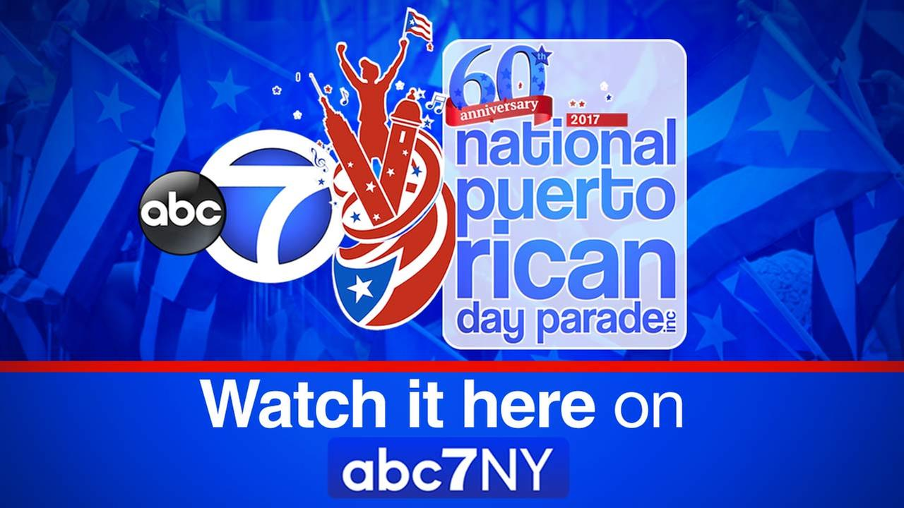 National Puerto Rican Day Parade: Watch it on abc7NY
