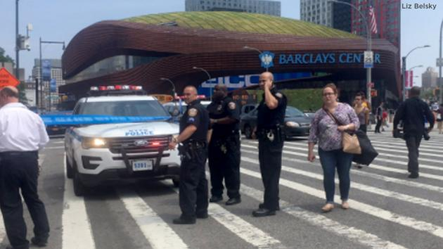 Panic erupts after gunshots ring out near Barclays Center in Downtown Brooklyn