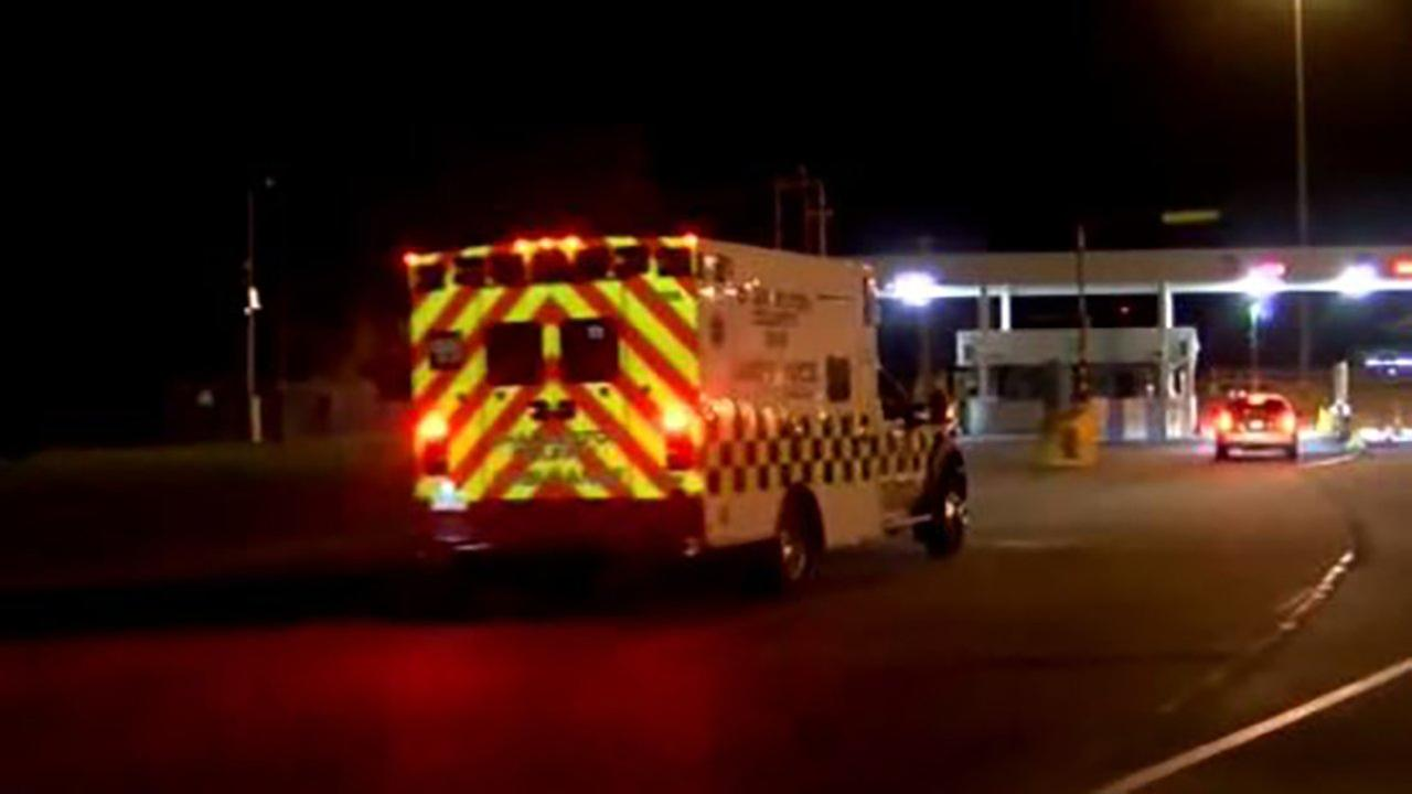 A look at the port in South Carolina where emergency vehicles arrived overnight