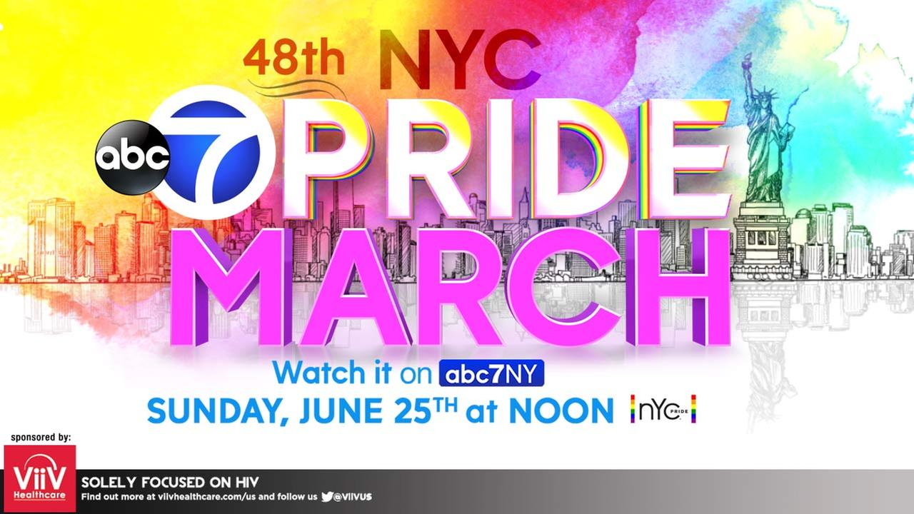 NYC Pride March coming to Channel 7