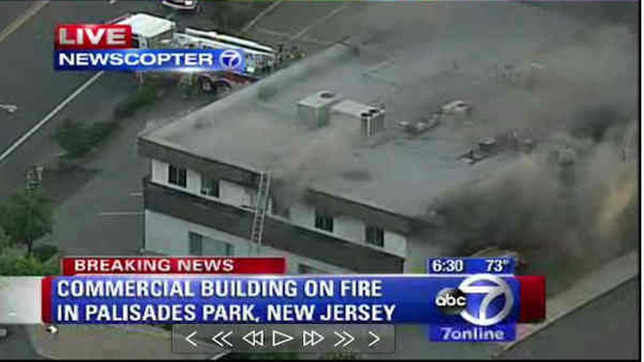 Cause of Palisades Park office building fire under investigation>