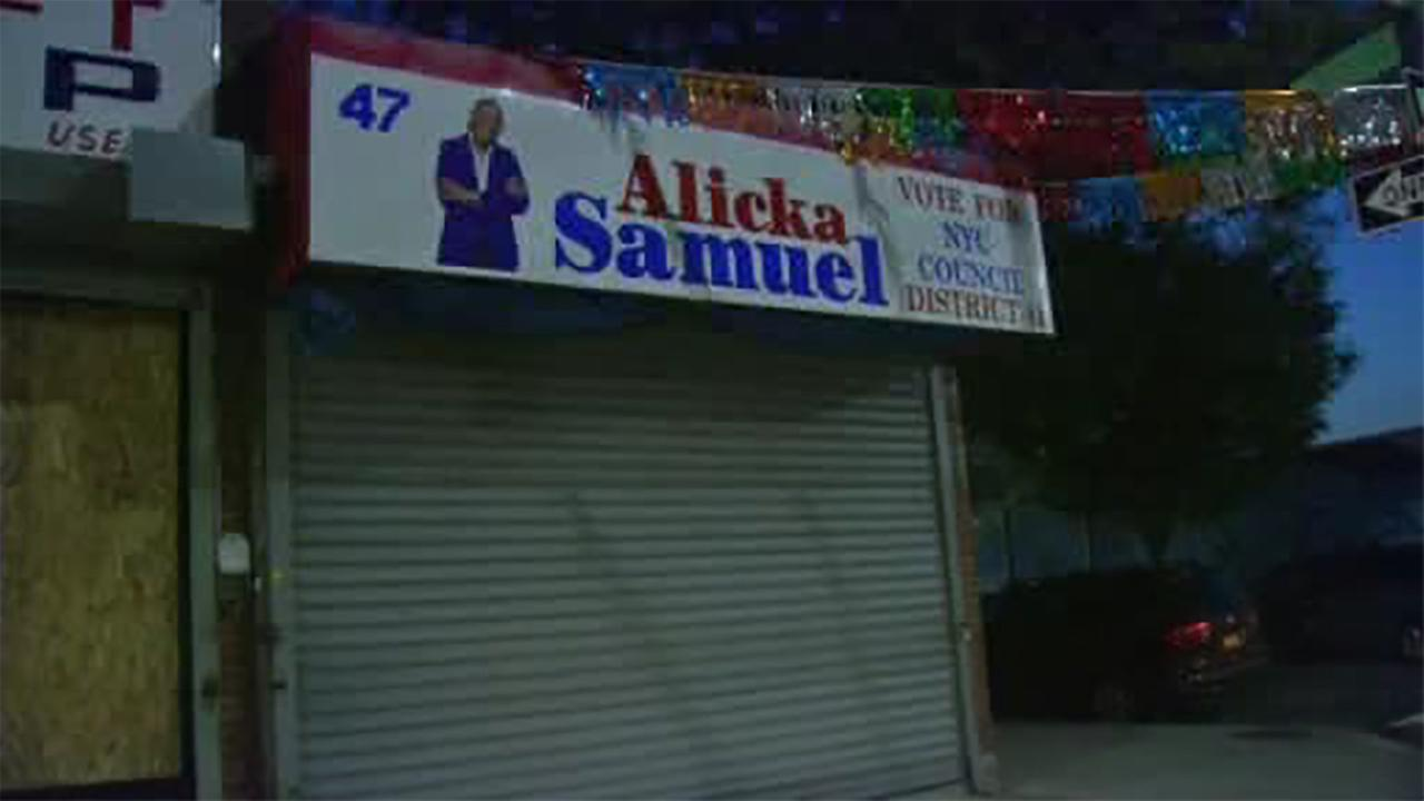 Fire tears through headquarters of City Council candidate in Brooklyn