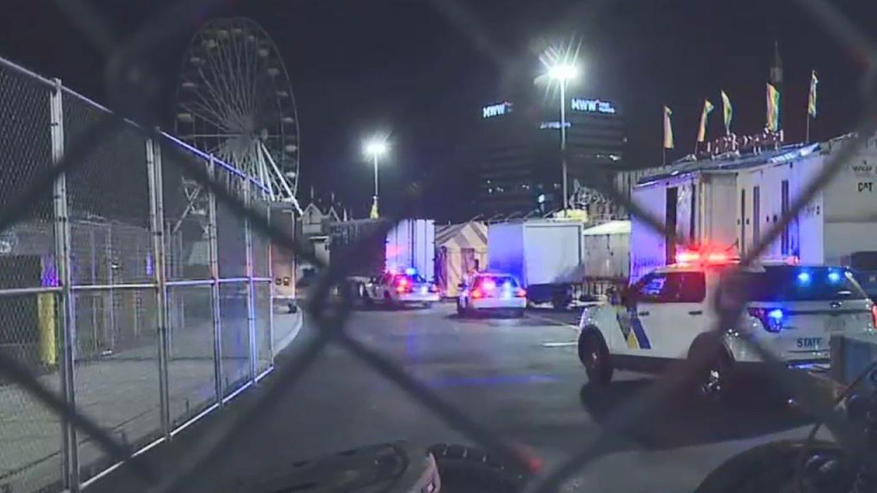 Shots were fired at State Fair Meadowlands in New Jersey.