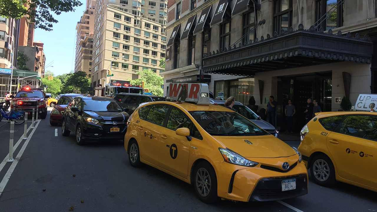 The Empire Hotel on the Upper West Side experienced a power outage Saturday.