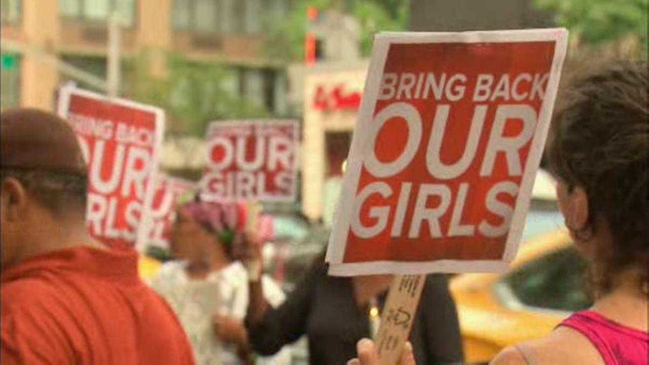 'Bring Back Our Girls' vigil held in Manhattan>