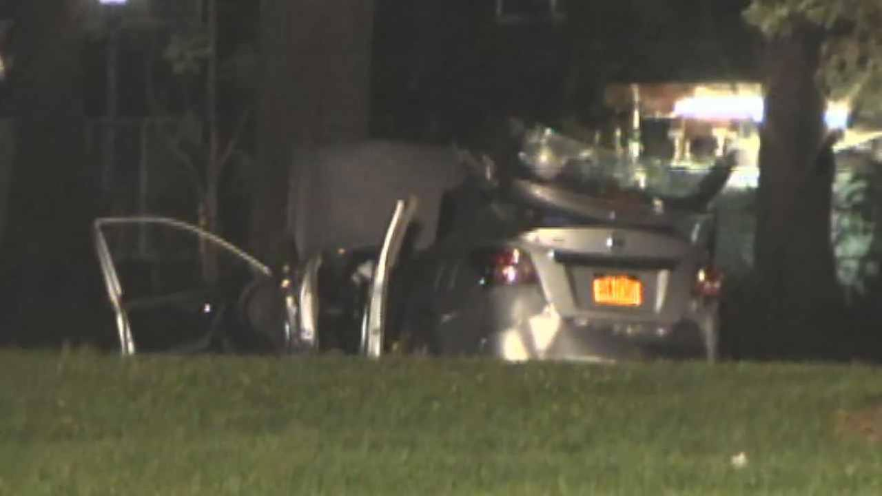 Central Park single-car accident kills 1