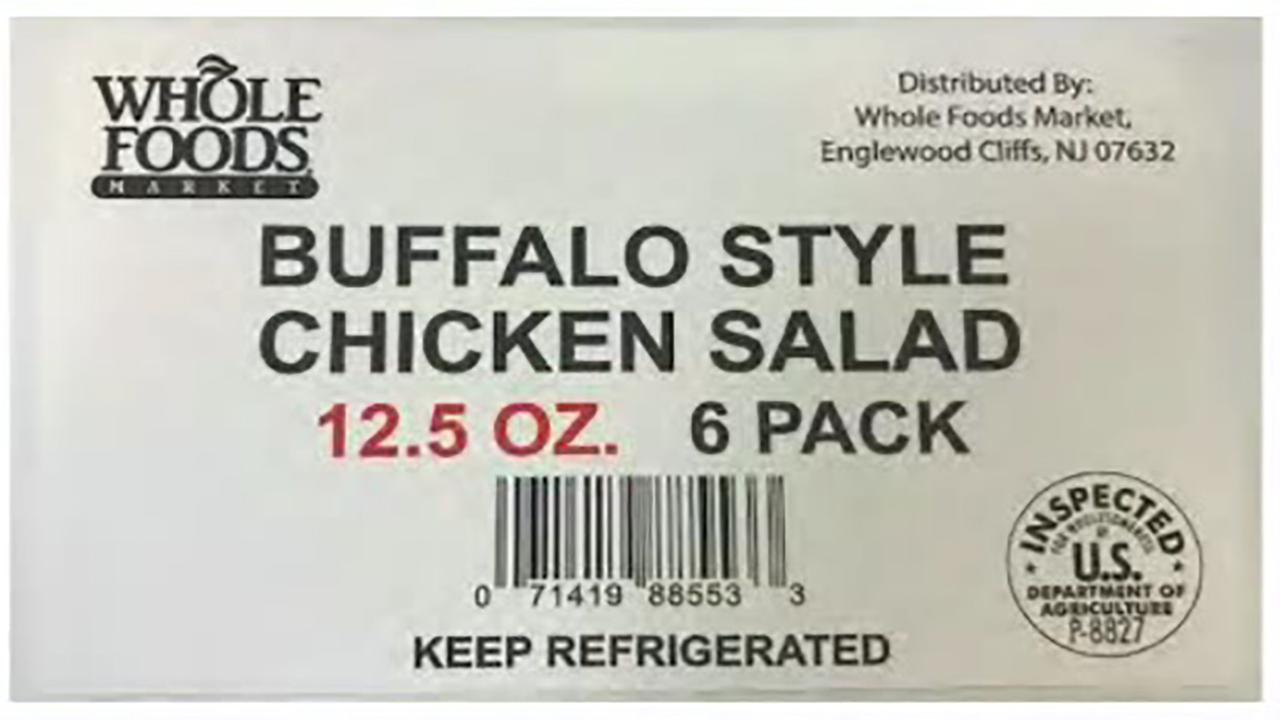 Willow Tree Poultry recalls tuna salad product sold at Whole Foods