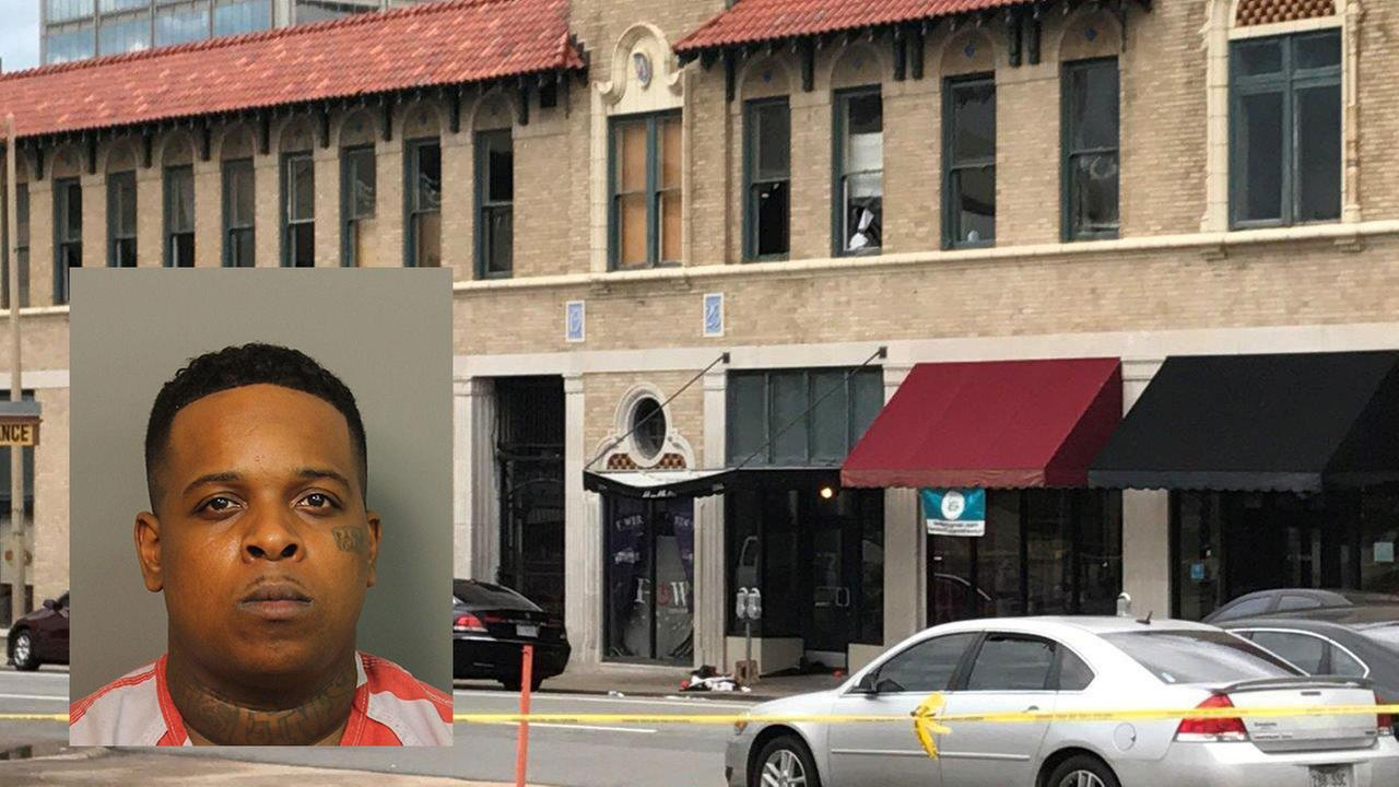 Ricky Hampton, also known as Finese2Tymes, was arrested in Alabama early Sunday. (Jefferson County Sheriff via AP)