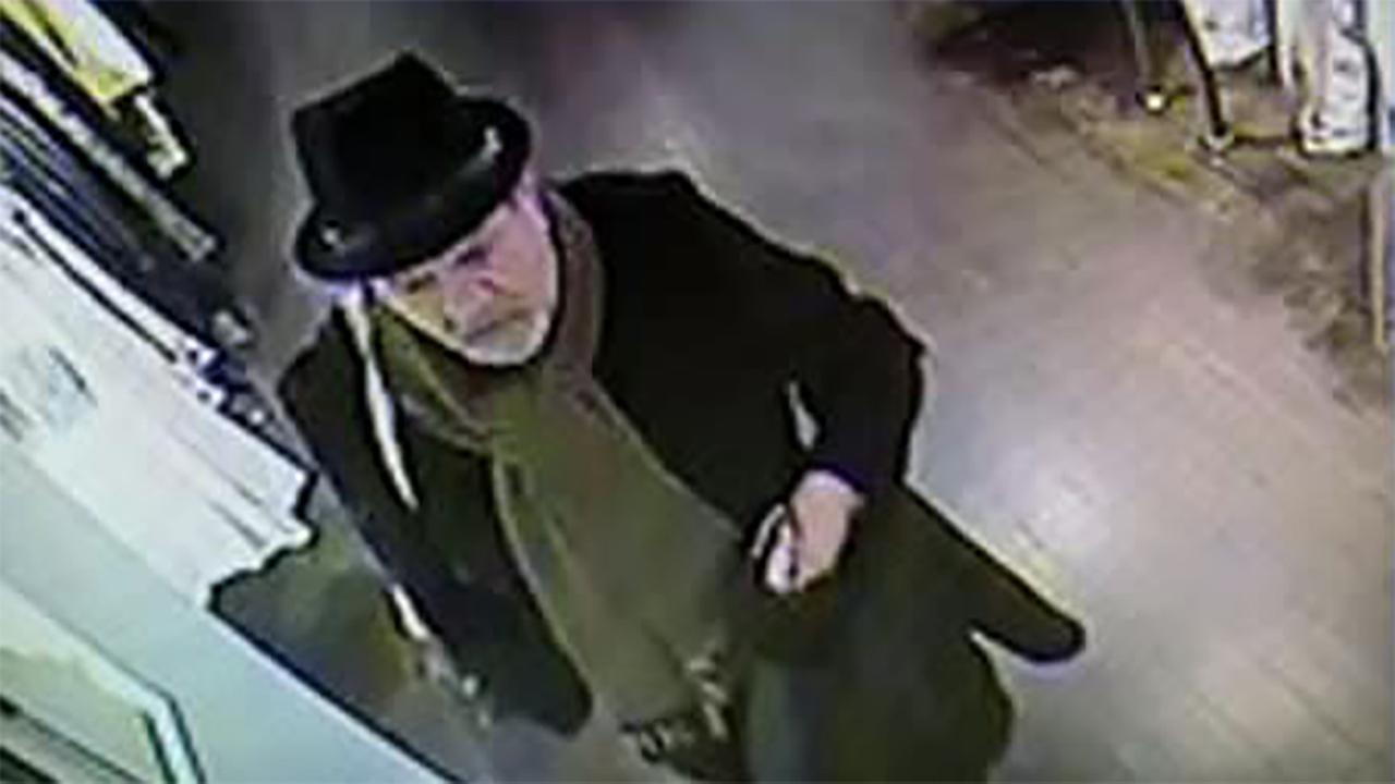 NYPD surveillance photo of the suspect