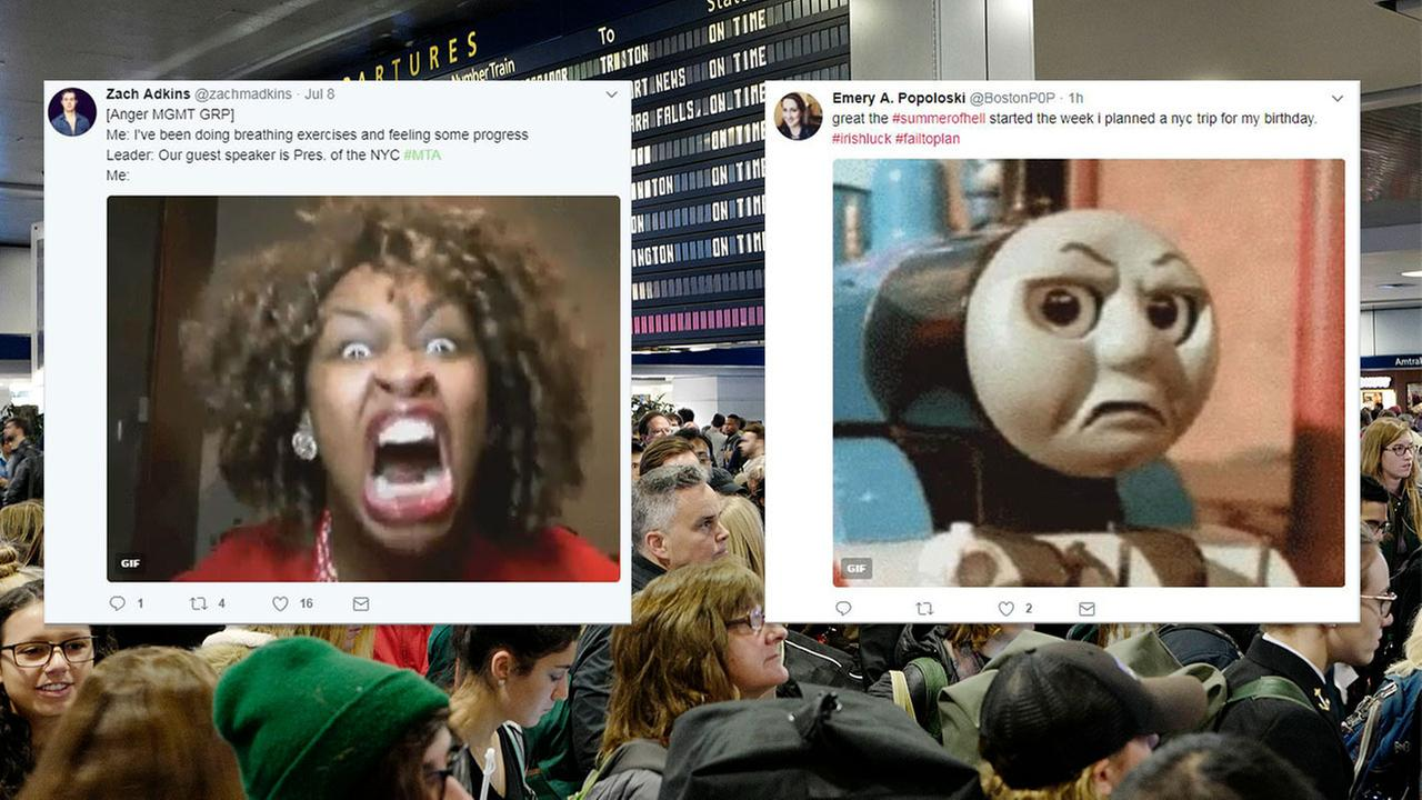 #SummerOfHell: Twitter reacts to Penn Station's 1st day of track work