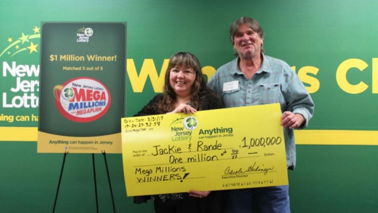 New Jersey grandparents, raising late daughter's 3 kids, win $1 million lottery