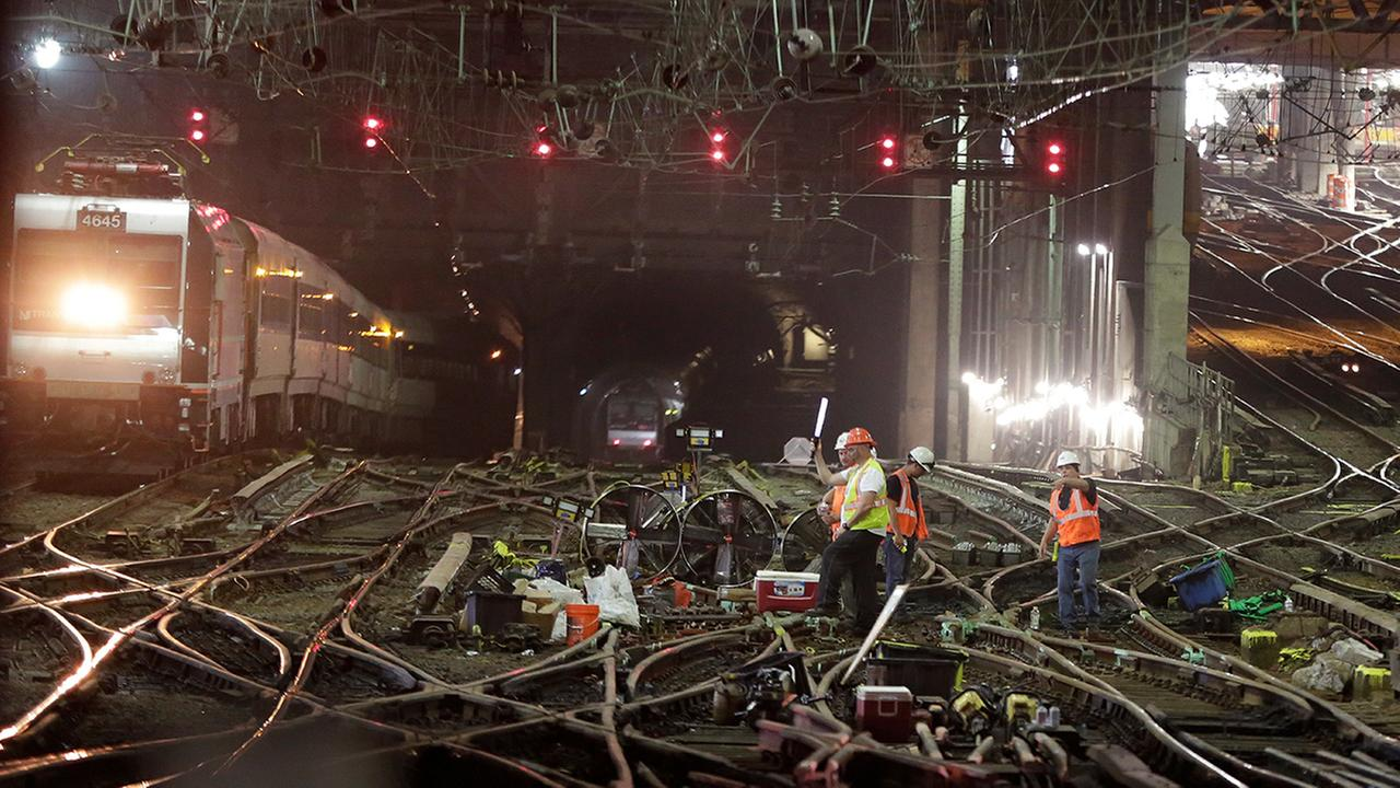 Repairs On Schedule, Amtrak, NJ Transit Plan Normal Service