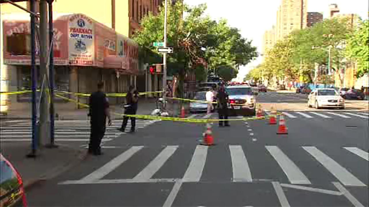 Bicyclist struck in hit and run in the Bronx