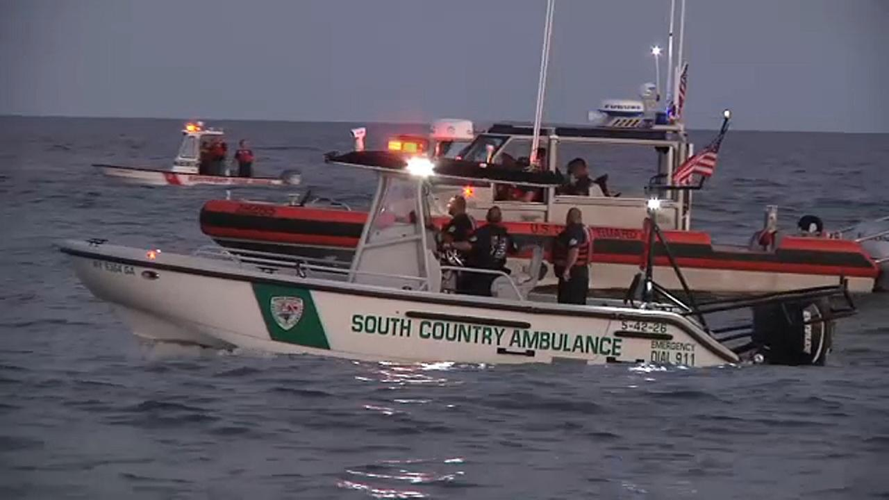 Crews searching for missing swimmer off Long Island