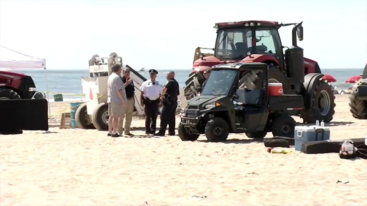 Womans body found on beach in Ocean City, Maryland
