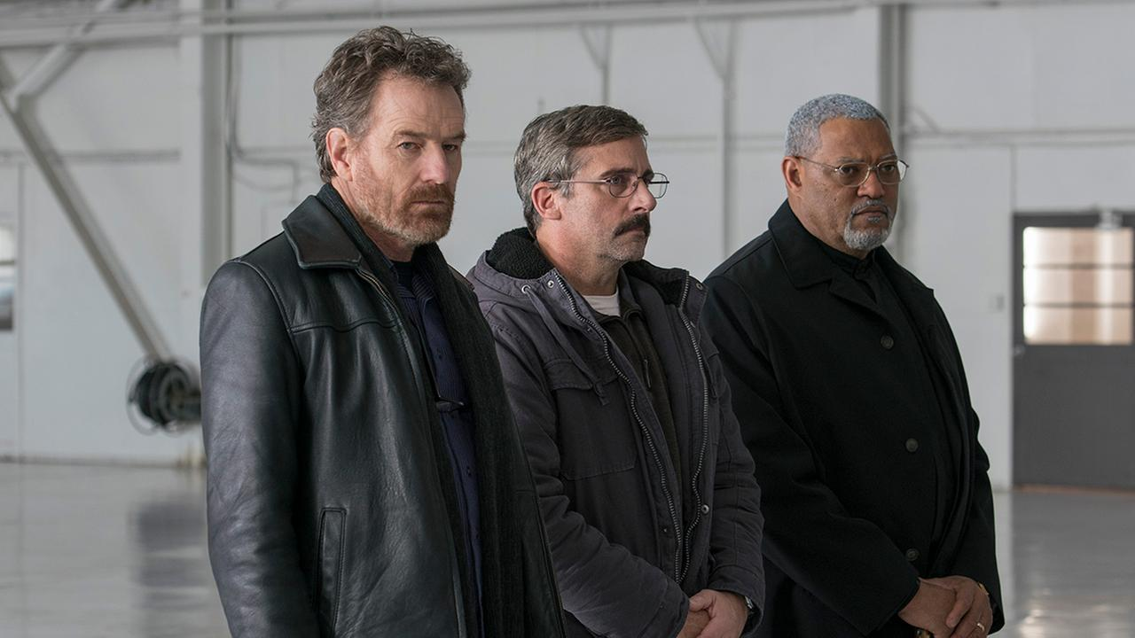 Steve Carell,  Bryan Cranston and Laurence Fishburne starring in Richard Linklaters Last Flag Flying.